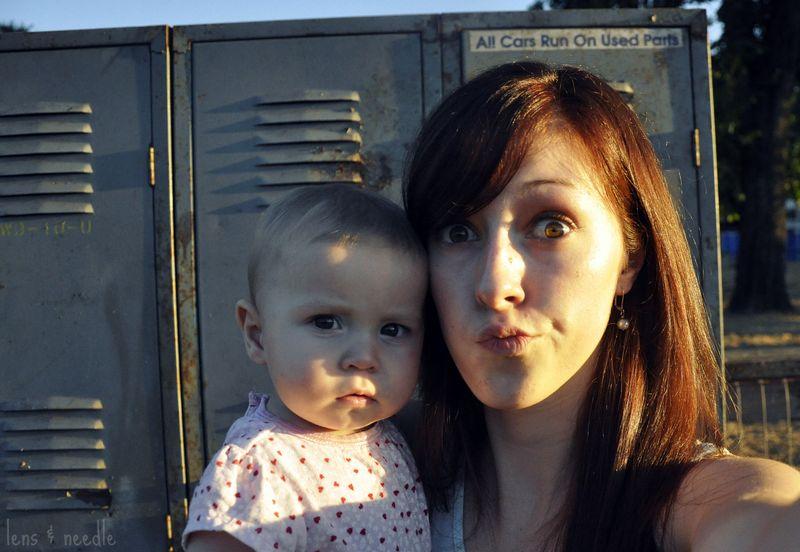 Me and baby sis 1