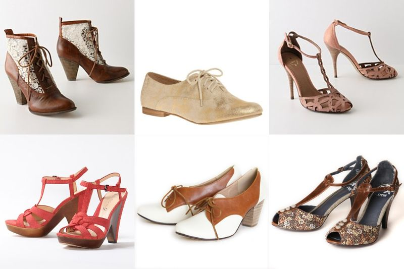 Shoe collage