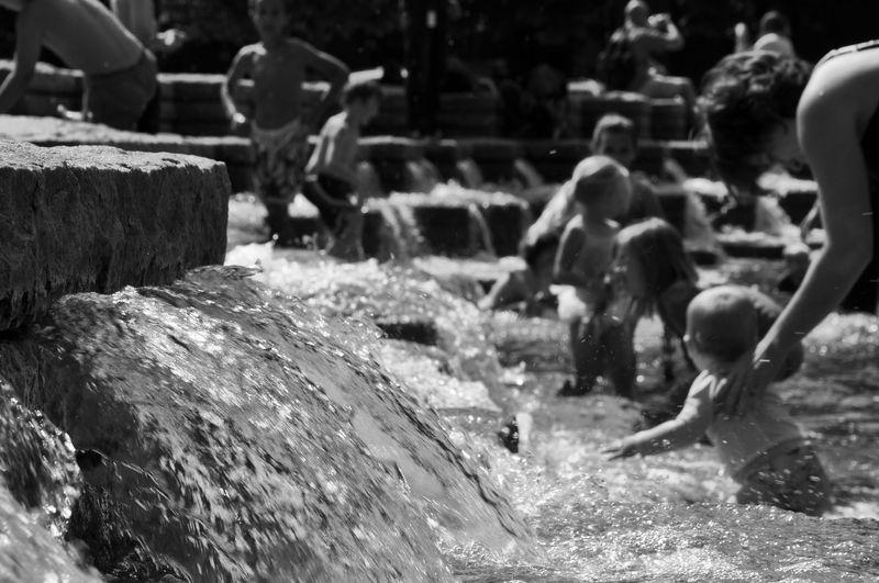 Water BandW